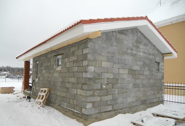 Баня на небольшом дачном участке