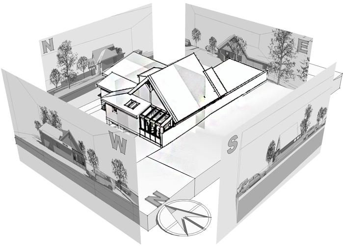 Схема организации земельного